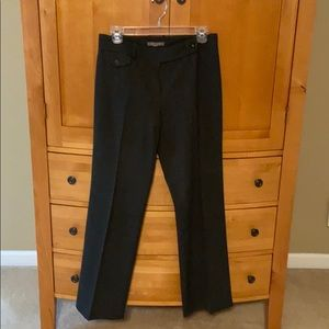 Ann Taylor dark gray professional pants